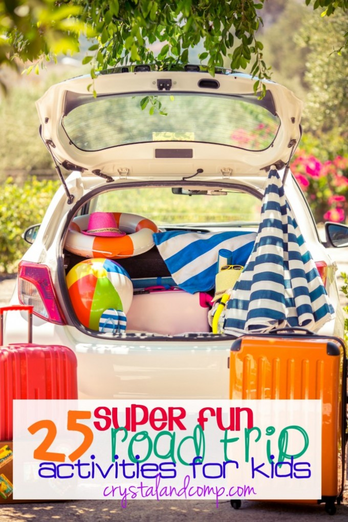 25 Super Fun Road Trip Activities for Kids