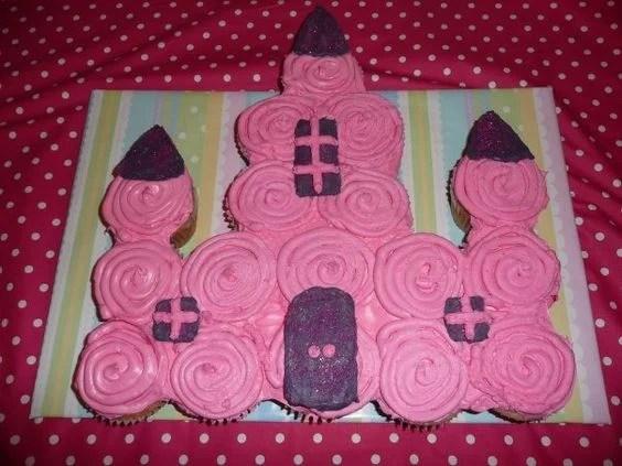 Princess Castle Pull Apart Cake