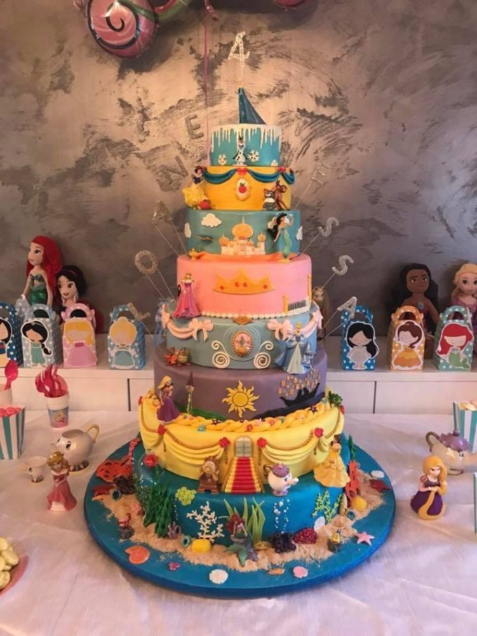 Disney Cake...these are the BEST Cake Ideas!