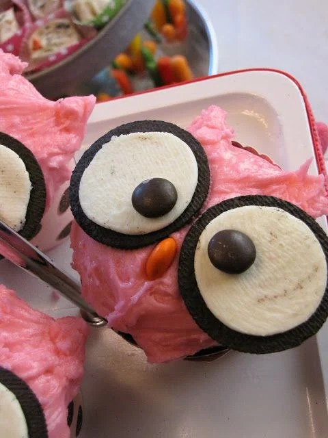 Owl Cupcakes...these are the BEST Cupcake Ideas!