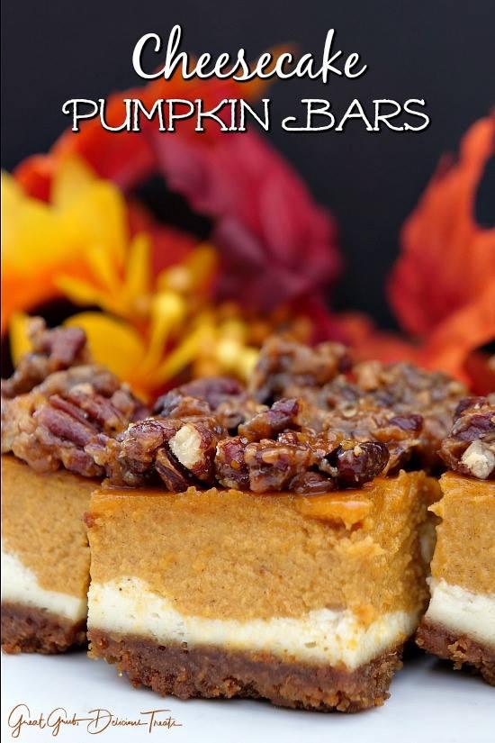 Cheesecake Pumpkin Bars