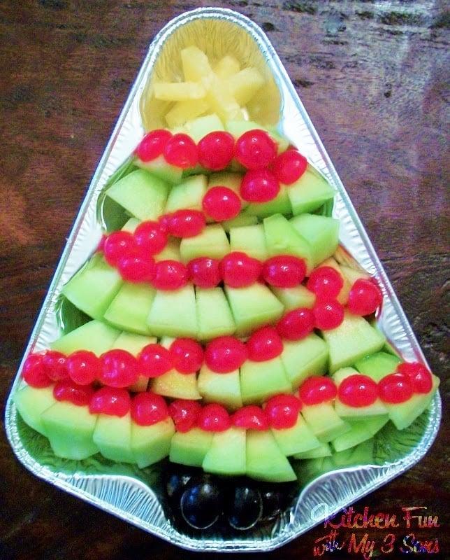 Christmas Tree Fruit Tray