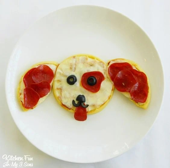 Puppy Pepperoni Pizza for Kids!
