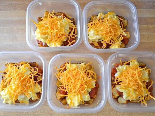Make-Ahead Breakfast Bowls....100's of the BEST Freezer Meals!