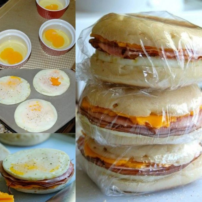 Freezer Breakfast Sandwiches...100's of the BEST Freezer Meals!
