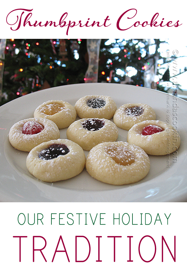Holiday Thumbprint Cookies...these are the BEST Christmas Cookie Recipes!