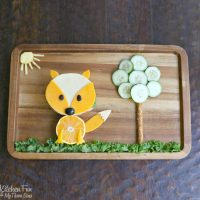 This Fox Fun Lunch is super cute and easy to make for the Kids!