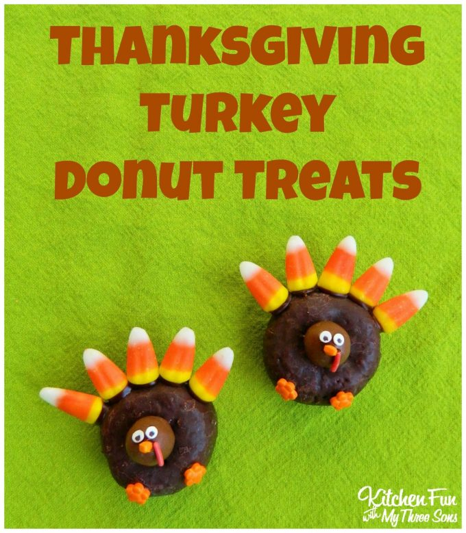 Thanksgiving Turkey Donuts