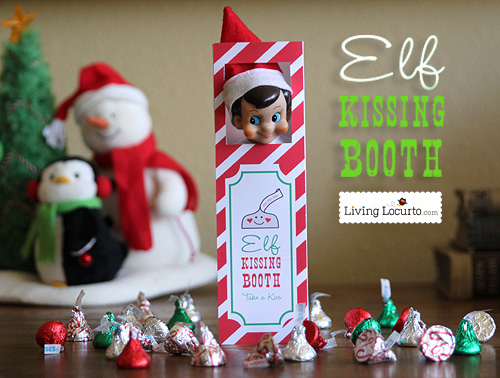 Elf Kissing Booth