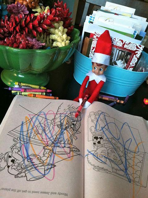 Coloring Elf