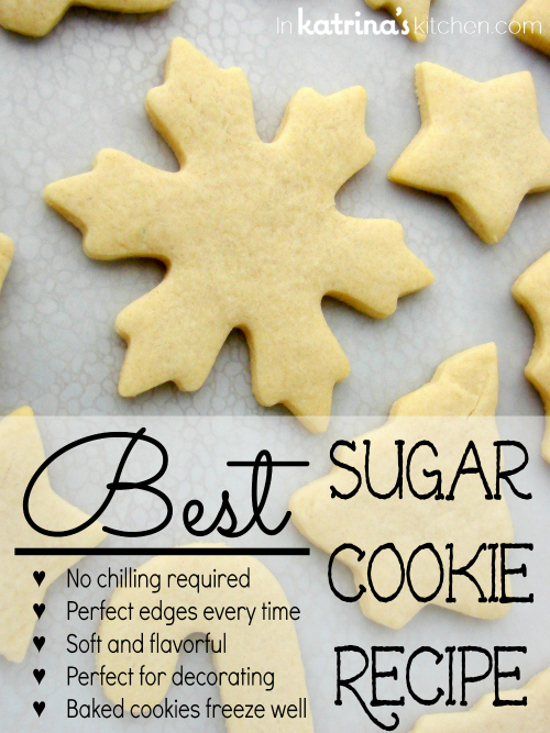 The BEST Sugar Cookies EVER....this is the Best selection of Christmas Cookies Recipes!