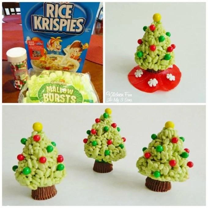 Rice Krispie Christmas Tree Treats