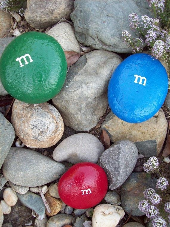 M&M Garden Rocks...these are the BEST Painted Rocks