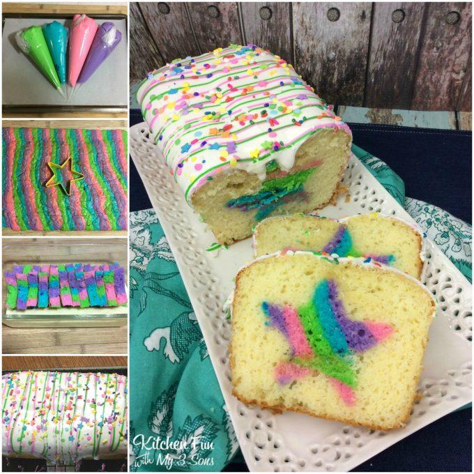 Sheet Birthday Cake Rainbow Unicorn