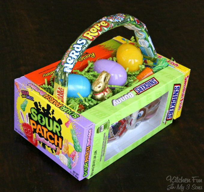 DIY Candy Easter Basket for Kids