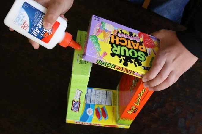DIY Candy Easter Basket for Kids
