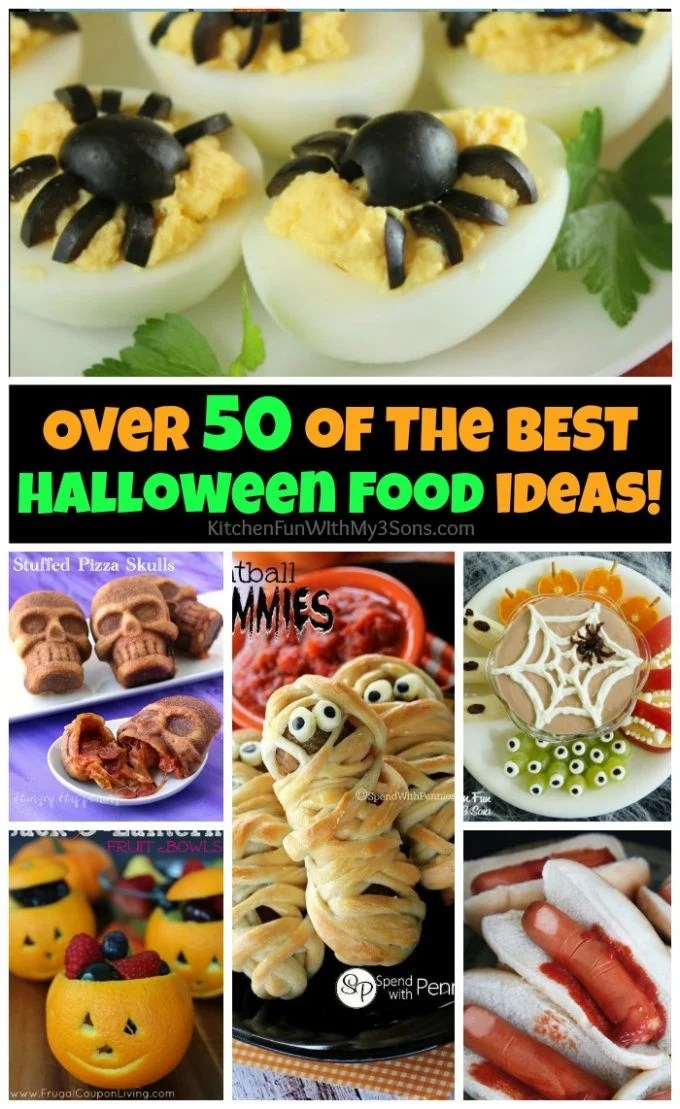 Over 50 of the BEST Halloween Food ideas!