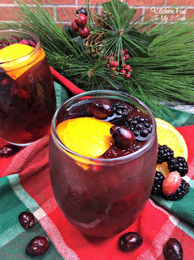 Blackberry Pomegranate Sangria