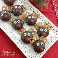 Christmas Reindeer Oreos
