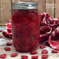 Spiced Bourbon Cherries