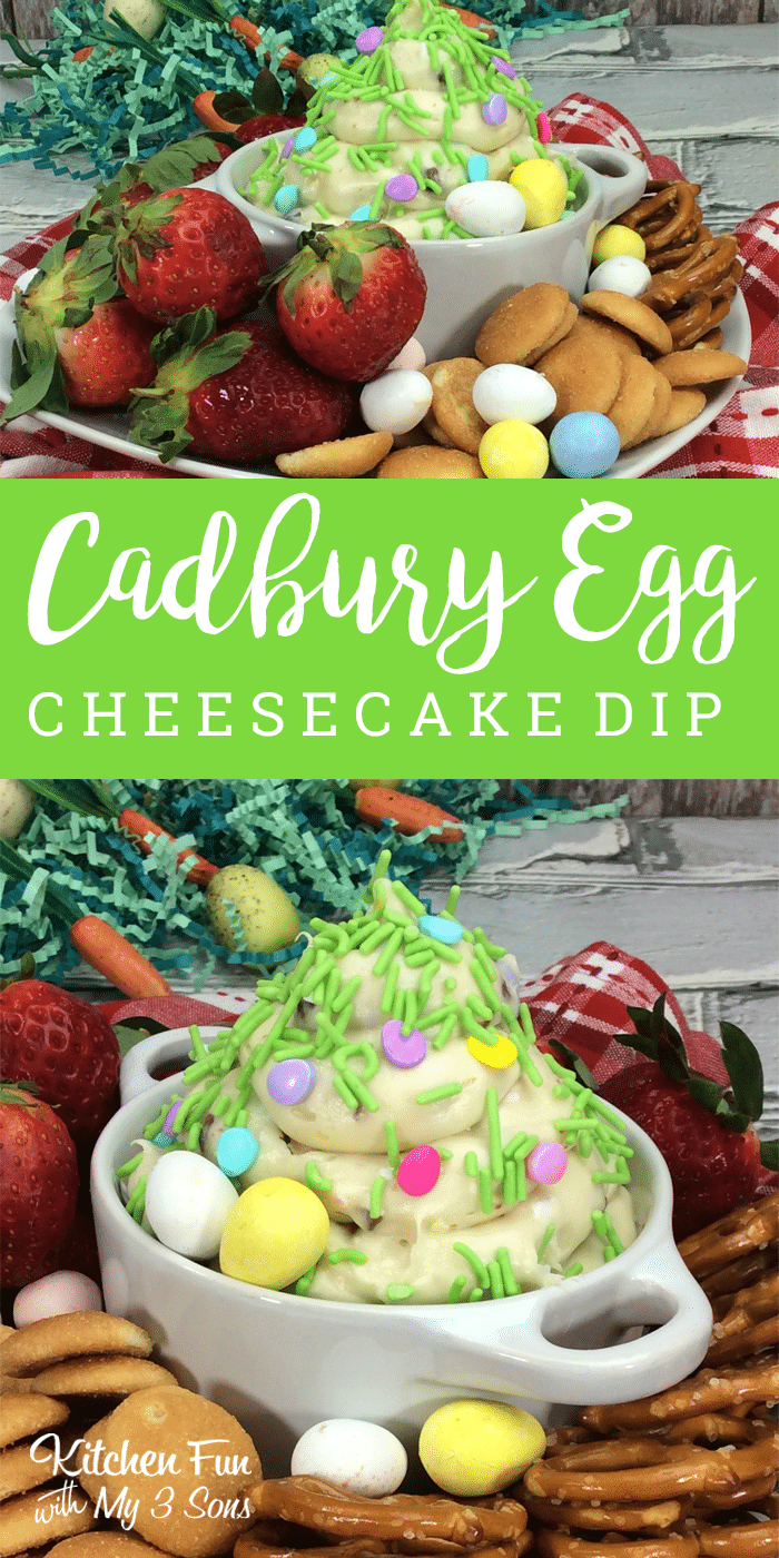 Cadbury Cheesecake Dip