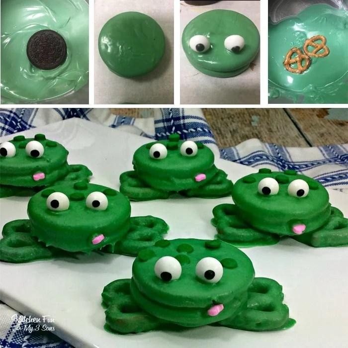 Frog Oreos