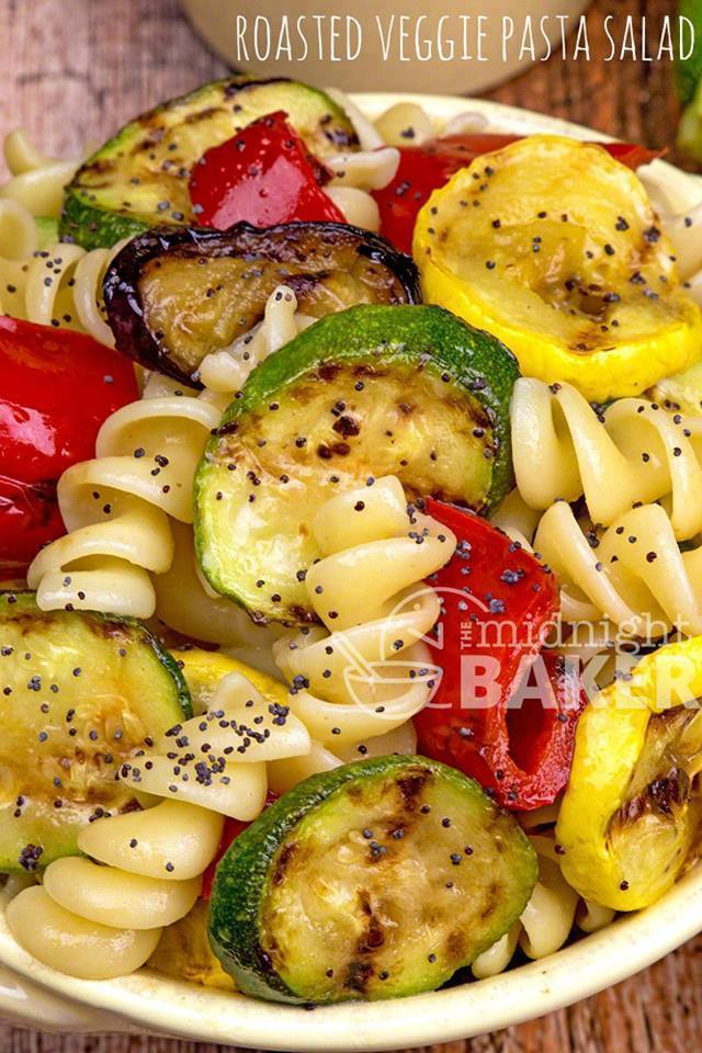 Roasted Veggie Pasta Salad Recipes