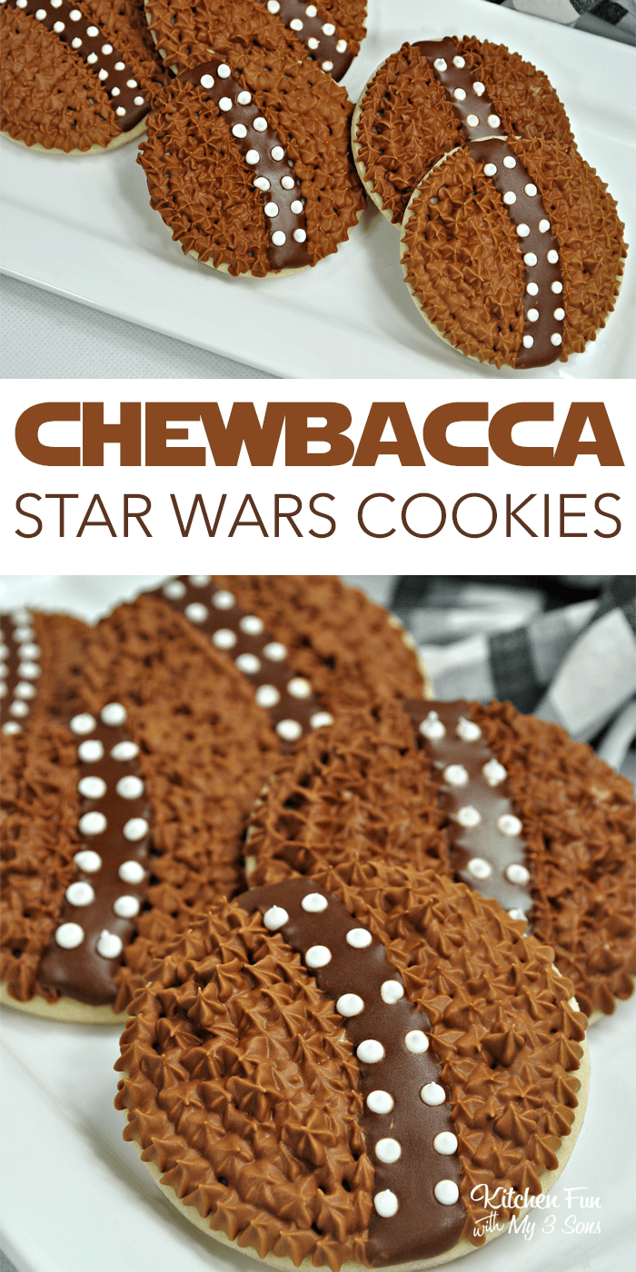 Chewbacca Cookies