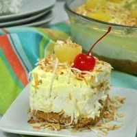 No-Bake Pineapple Dream Dessert