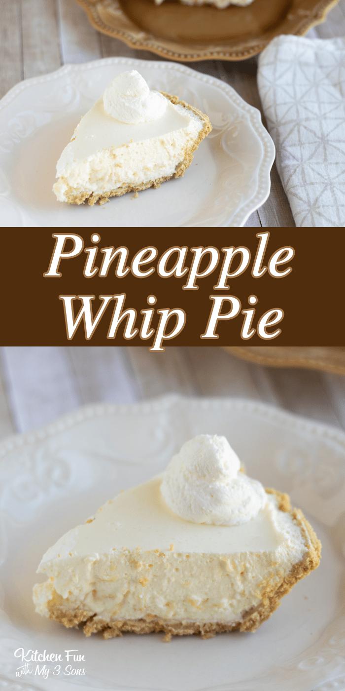 Pineapple Whip Pie