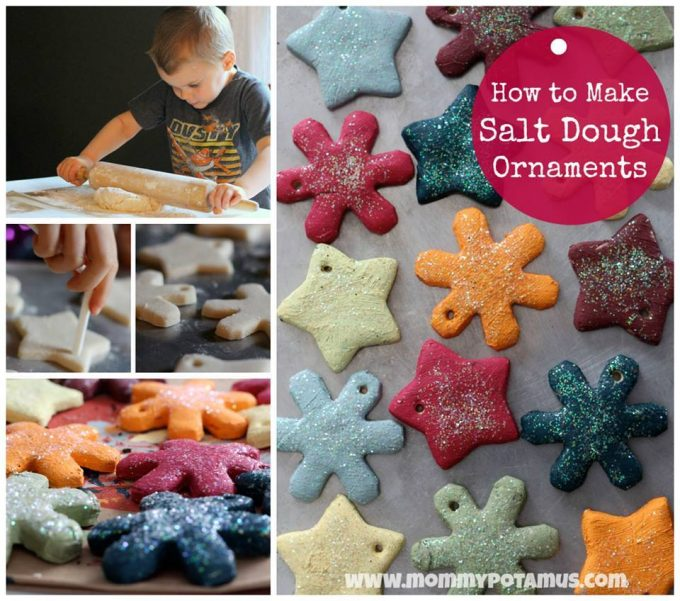 Colorful Ornaments - Over 30 of the BEST Christmas Salt Dough Ornaments