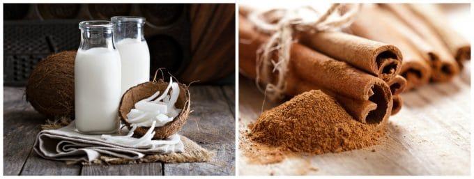 Coconut Milk and Cinnamon