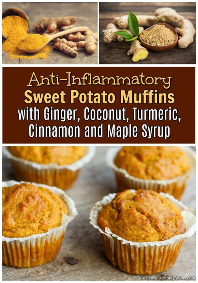 Sweet Potato Anti-Inflammatory Muffins