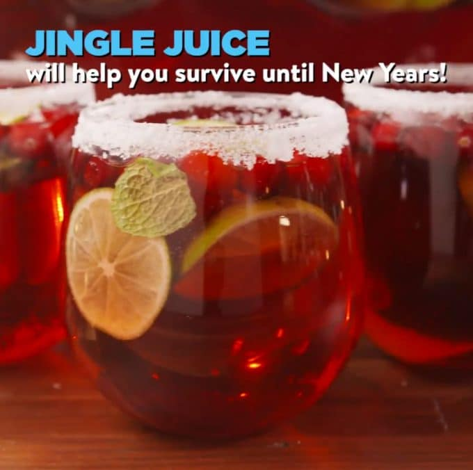 Jingle Juice - Over 30 of the BEST Christmas Cocktail Recipes!