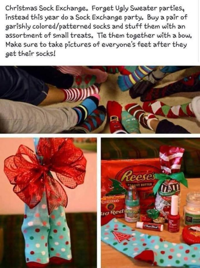 Christmas Sock Exchange - The BEST Holiday Party Games