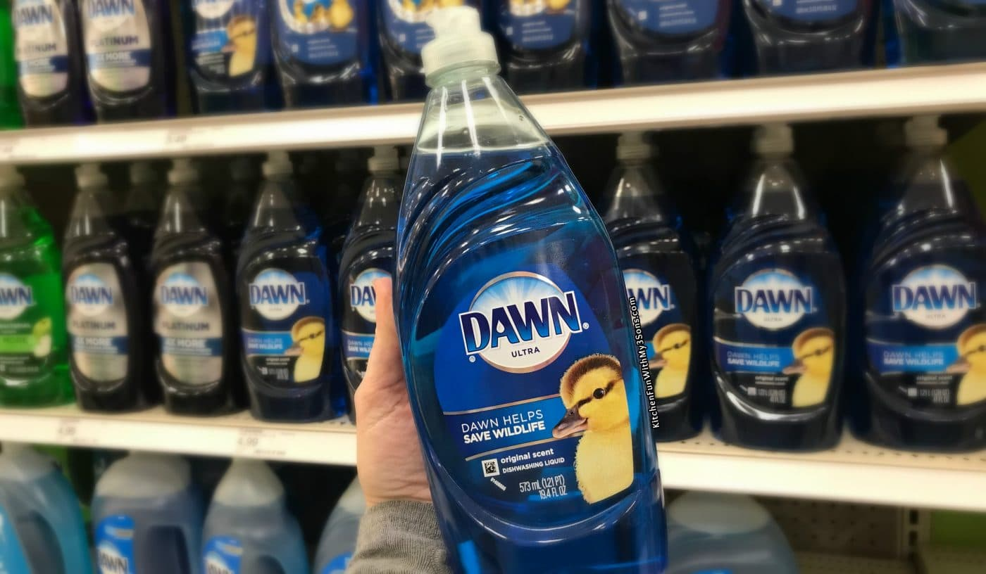 17 uses for dawn dish soap that have