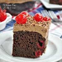 Black Forest Cherry Cake is one of the easiest and most delicious cakes you will ever make. All you need for this yummy dessert is just three ingredients!