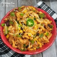 Taco Pasta in the Instant Pot is one my family's new favorite dinner meals. With simple ingredients and quick cook time you can get dinner on the table so fast.