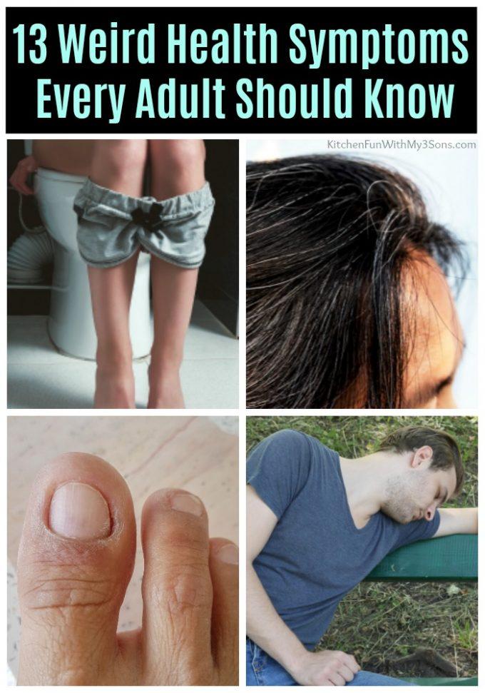 13 Weird Health Symptoms We Wish Every Adult Knew