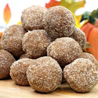 Pumpkin Donut Holes