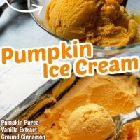Easy No-Churn Pumpkin Ice Cream