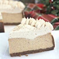 Instant Pot Eggnog Cheesecake