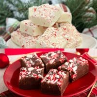 Easy Peppermint Fudge Recipe - 2 Ways