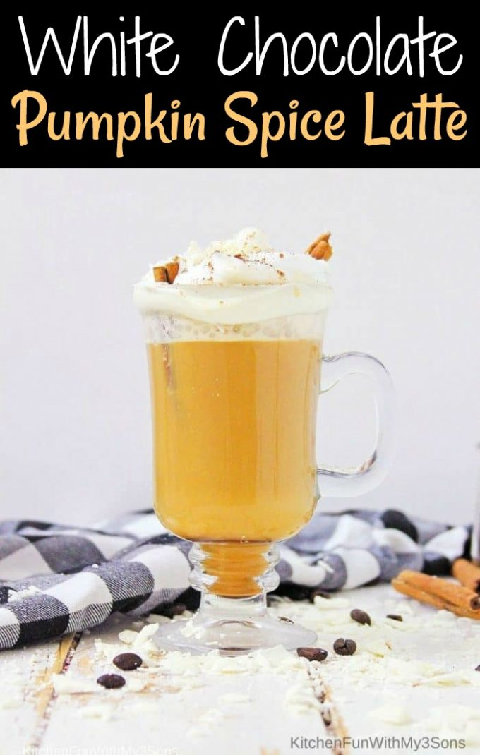 White Chocolate Pumpkin Latte
