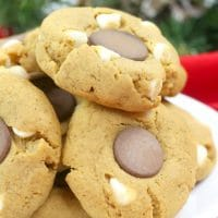 White Chocolate Gingerdoodle Cookies