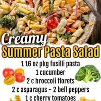 Creamy Pasta Salad