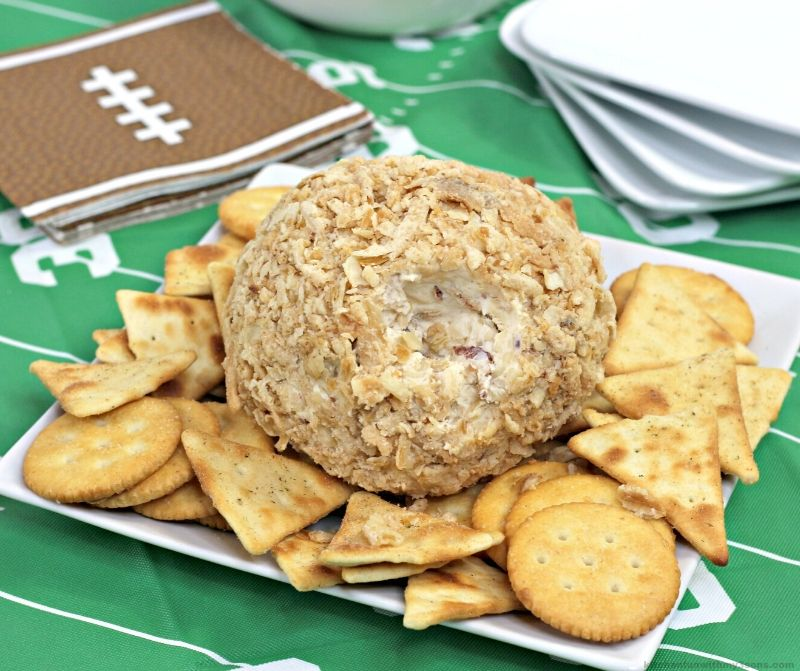 French Onion Best Cheese Ball Recipe