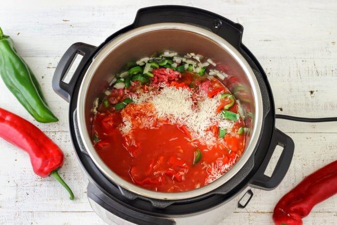 instant pot soup ingredients