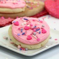 Valentine Soft Sugar Cookies