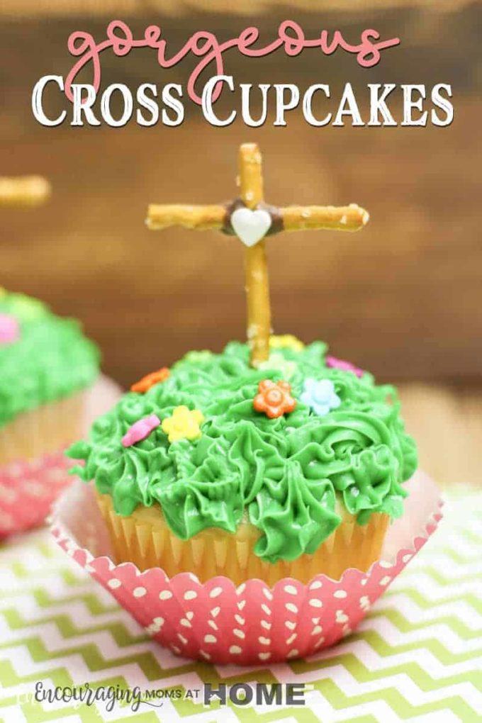 Easter Cross Cupcakes